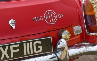 Lot 272 - 1968 MG C GT Registration number: CXF 111G...