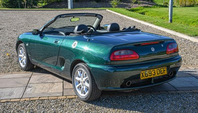 Lot 260 - 2001 MGF Registration number: X693 DEF Date of...