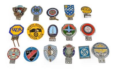 Lot 7 - Sixteen Assorted Nalgo Car Badges, including...