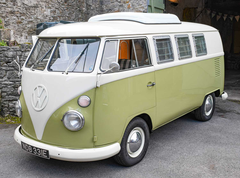 Lot 282 - 1967 Volkswagen Campervan (Import)...