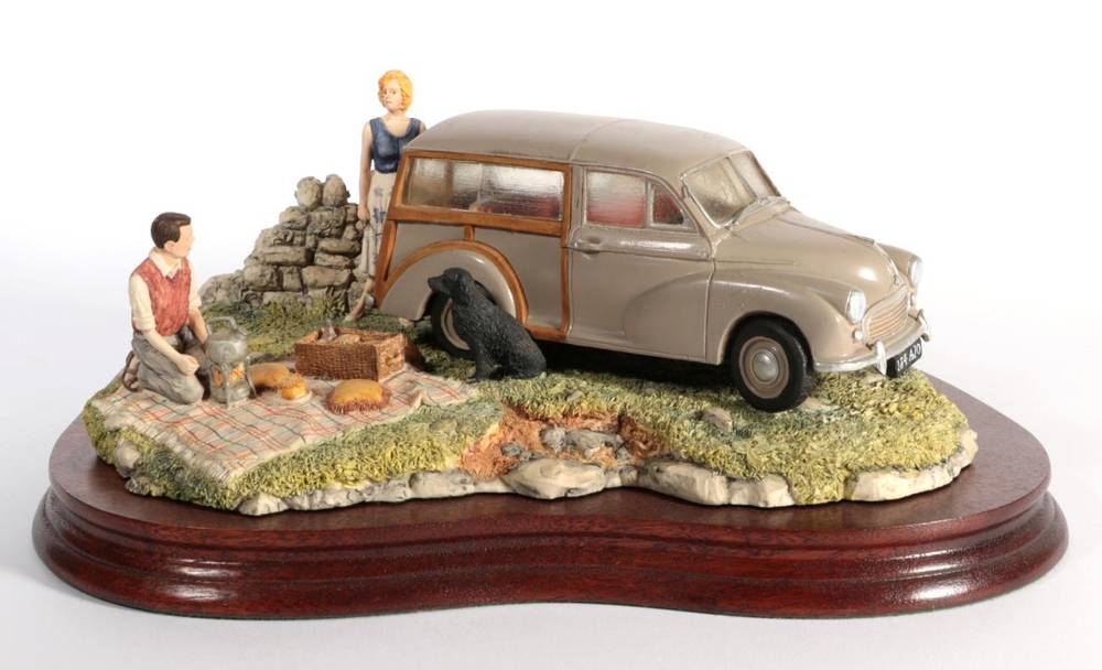 Lot 36 - Border Fine Arts 'A Day in the Country' (Morris 100 Traveller), model No. JH93 by David Walton,...