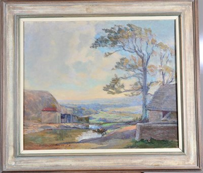Lot 42 - Frederick W. Jackson (1859-1918) View of Runswick Bay Signed and dated 19(?), oil on canvas,...