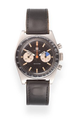 Lot 78 - A Roulette Calendar Wheel Stainless Steel Automatic Centre Seconds Wristwatch, signed Rolex, Oyster