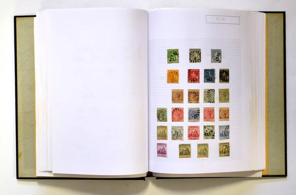 Lot 16 - Commonwealth Collection A to C in Senator Album.  From QV to QE2 with many useful items mint...