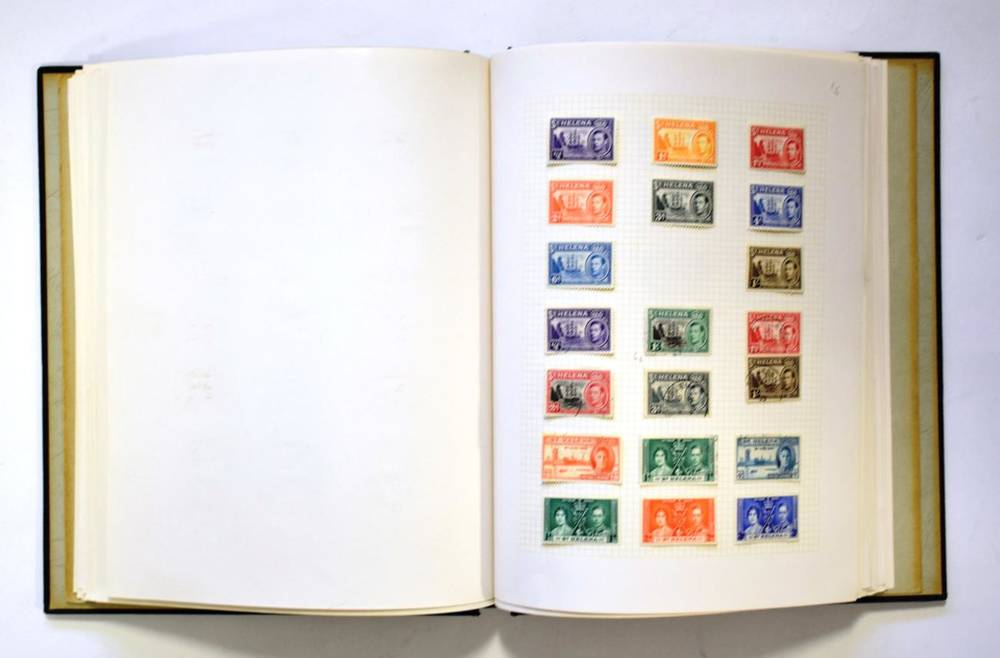Lot 18 - Commonwealth Collection - Newfoundland to Sierra Leone mint and used in a Senator album....