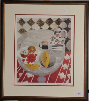 Lot 42 - Mary Fedden RA, RWA, OBE (1915-2012) ''The Matisse Jug'' Signed and numbered 412/550,...