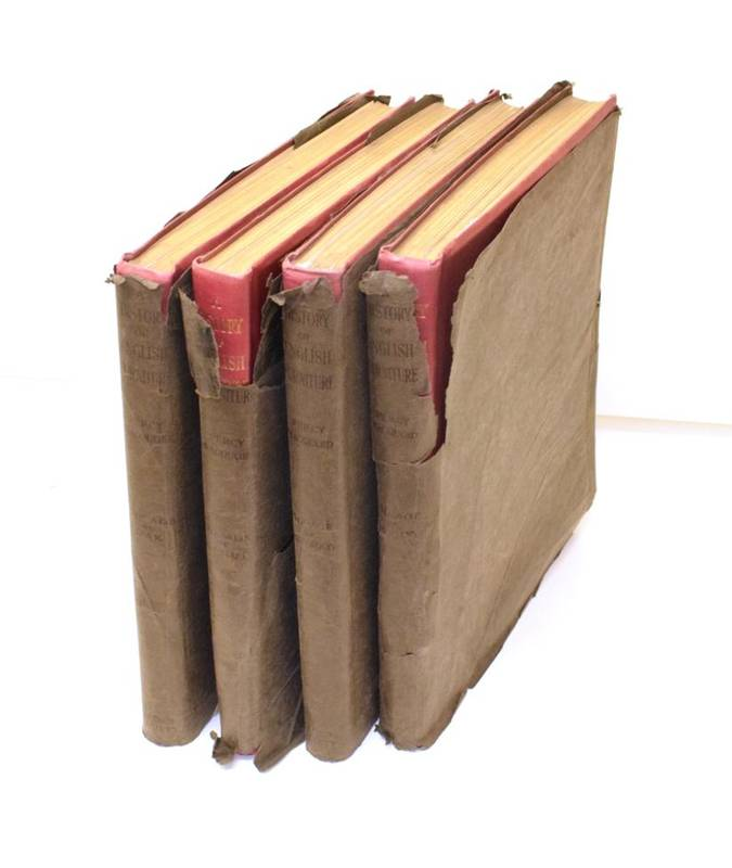 Lot 1 - Macquoid (Percy) A History of English Furniture. The Medici Society, 1925-8. Folio (4 vols)....