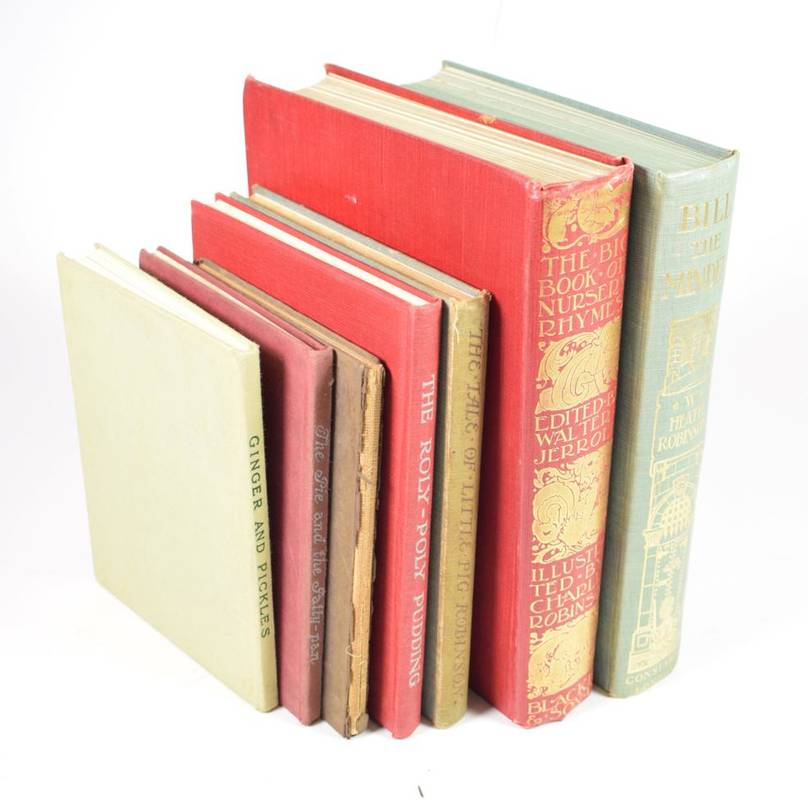 Lot 25 - Potter (Beatrix) Ginger and Pickles, 1909, first edition, original cloth; idem, The Roly Poly...