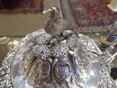 Lot 12 - An Early Victorian Silver Four Piece Tea and Coffee Service, Samuel Hayne & Dudle Cater, London...