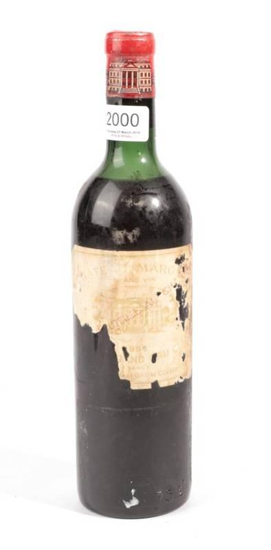 Lot 2000 - Chateau Margaux 1956 Margaux 1 bottle vts/ts