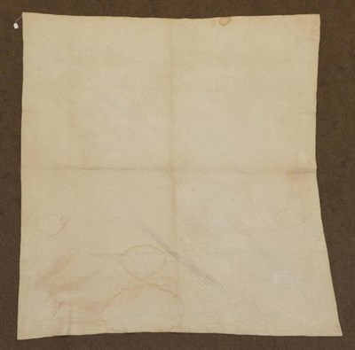 Lot 2044 - Late 19th Century Cotton Sateen Patchwork Durham Quilt, medallion style with block centre and multi
