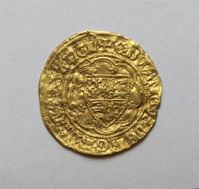 Lot 1 - Edward III (1327-1377), Quarter Noble, Treaty period, rev. lis in centre, (S.1510). Good fine