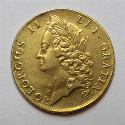 Lot 11 - George II (1727-1760), Two Guineas, 1739, intermediate laureate head left, rev. crowned...