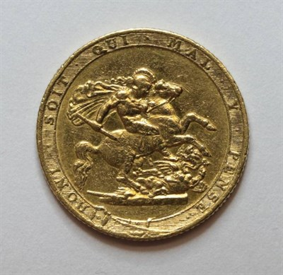 Lot 21 - George III (1760-1820), Sovereign, 1817, laureate head right, (S.3785). Nearly very fine