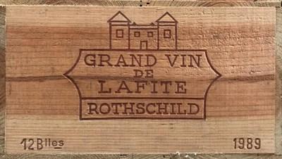 Lot 2023 - Chateau Lafite-Rothschild 1989 Pauillac 12 bottles owc 98/100 Decanter Magazine