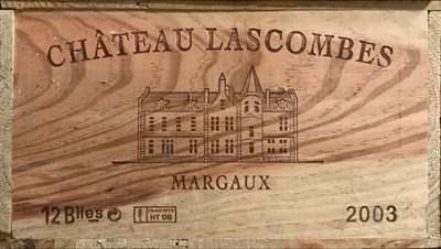 Lot 2034 - Château Lascombes 2003 Margaux 12 bottles owc 94/100 Robert Parker