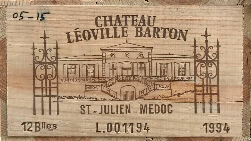Lot 2036 - Chateau Léoville Barton 1994 Saint-Julien 12 bottles owc 90+/100 Robert Parker
