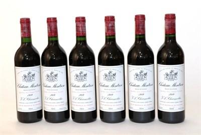 Lot 2037 - Chateau Montrose 1989 Saint Estèphe 12 bottles owc 100/100 Robert Parker