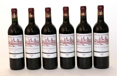 Lot 2039 - Chateau Cos d'Estournel 1988 Saint Estèphe 12 bottles owc 92/100 Wine Spectator