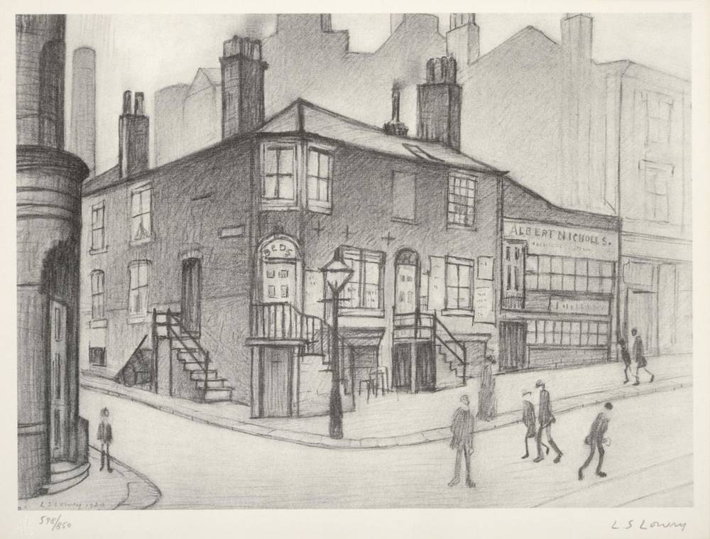 Lot 7 - After Laurence Stephen Lowry RBA, RA (1887-1976) ''Great Ancoats Street'' Signed and numbered...