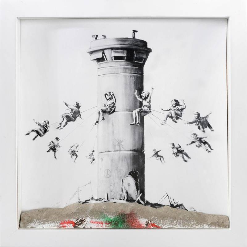 Lot 25 - Banksy (b.1974) ''Walled off Hotel, Box Set'', 2017 Offset lithograph, accompanied with a...