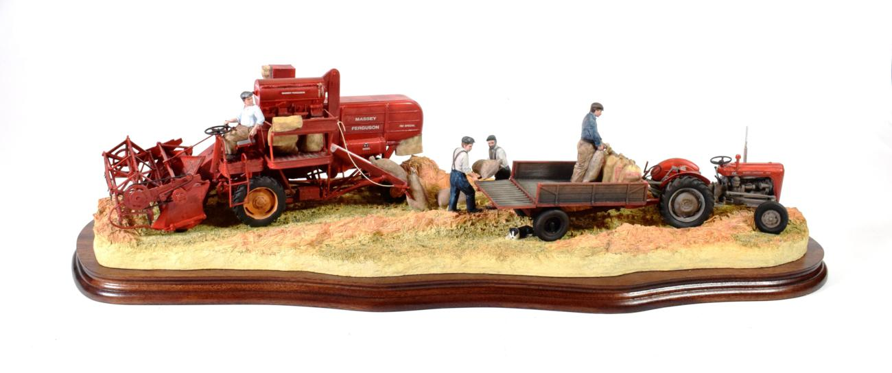 Lot 16 - Border Fine Arts 'Bringing in the Harvest', model No. B0735 by Ray Ayres, limited edition...