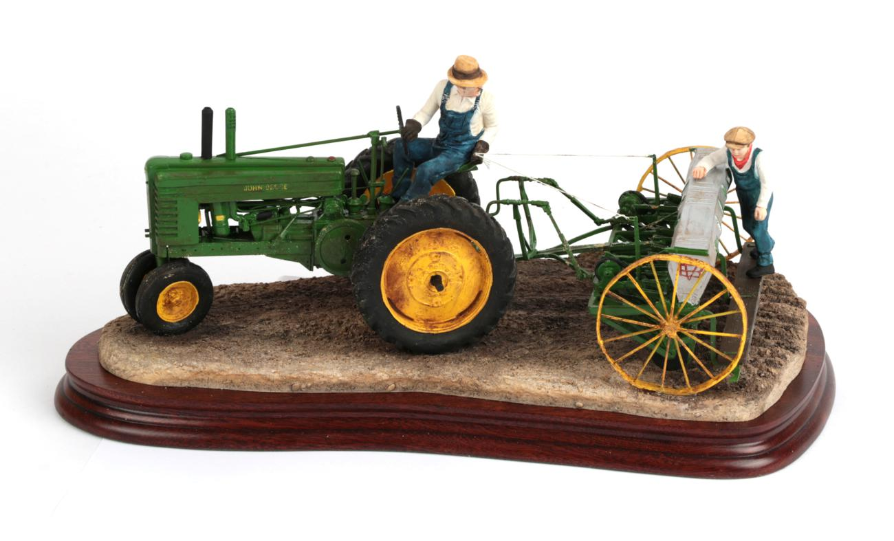 Lot 33 - Border Fine Arts for John Deere 'Sowing The Good Seed', model No. B0917 by Ray Ayres, limited...