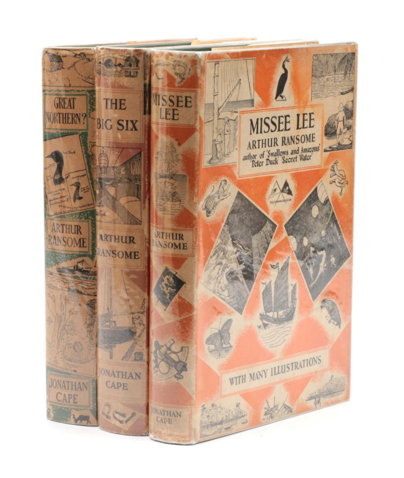 Lot 205 - Ransome, Arthur Missee Lee. Jonathan Cape, 1941. 8vo, org. cloth in unclipped jacket (7s 6d). First