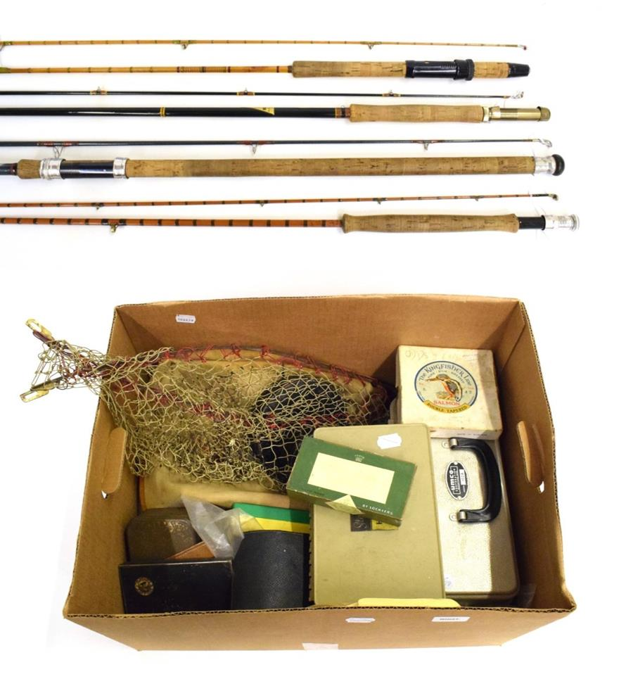 Lot 3047 - A Hardy, The ''Perfection'', Two-Piece, Palakona Trout Fly Rod, No.H51960A, 8ft. 6in., canvas...
