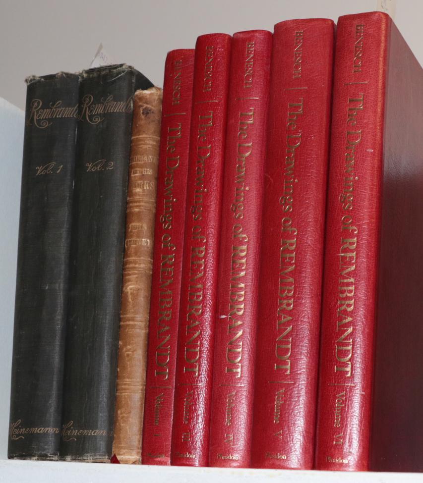 Lot 7 - Rembrandt Burnet, John. Rembrandt and his Works. David Bogue, 1849. 4to, org. cloth; illus....