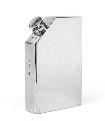 Lot 3018 - A Victorian Silver Spirit-Flask, by William Gibson and John Lawrence Langman, London, 1893,...