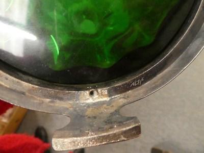 Lot 38 - A WMF style Art Nouveau claret jug