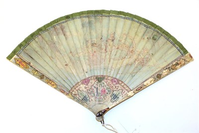 Lot 4009 - An 18th Century Ivory Brisé Fan, the two guards and twenty five inner sticks attractively...