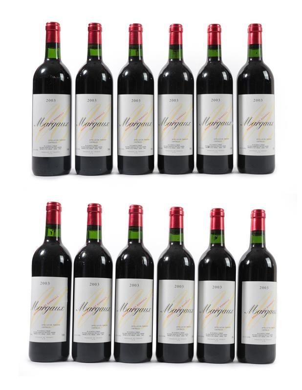 Lot 2048 - Château Rauzan-Ségla 2003 Margaux (twelve bottles)