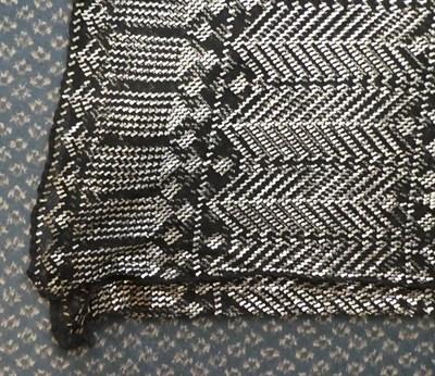 Lot 1001 - Black assuit shift dress (a.f.)