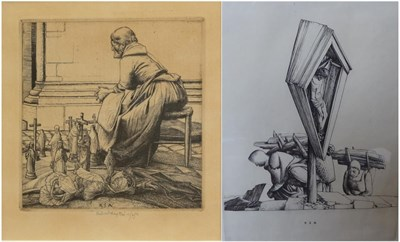 Lot 360 - Robert Sargent Austin (1895-1973) The Wood Carriers Signed and dated 1932 in pencil, engraving...