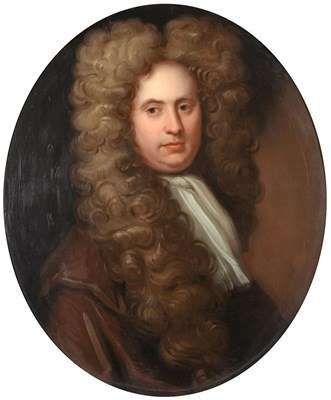 Lot 427 - Follower of Sir Peter Lely (1618-1680)  Portrait of William Howard of Corby Castle, Cumbria...
