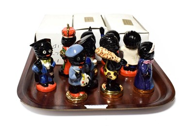 Lot 2 - A collection of twelve Carltonware figurines, three with boxes