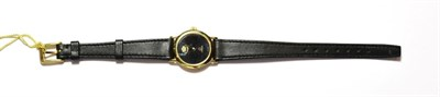 Lot 58 - An Omega lady's wristwatch, by repute this was presented by King Hussein of Jordon, with Omega box