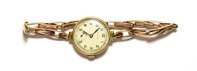 Lot 70 - A lady's 9 carat gold Rolex wristwatch