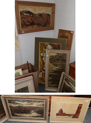 Lot 1050 - Victor Wild ''Ilkley Moor'' (20th/21st century) signed and inscribed verso oil on board,...
