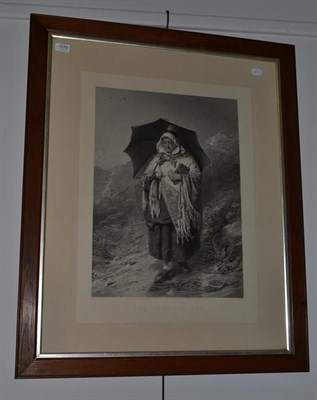 Lot 1070 - After Erskeine Nicol, black and white engraving titled ''The Sabbath Day''