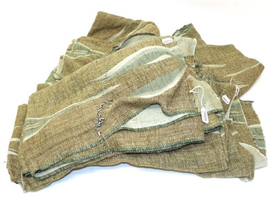 Lot 2009 - Alan Jarvis for Edinburgh Weavers 'Centaurs' Designed in 1961, woven in green and cream,...