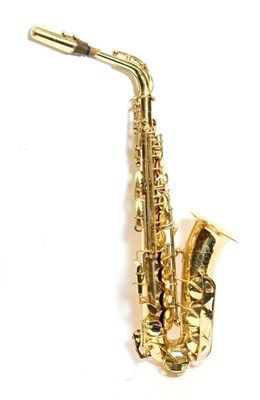 Lot 3024 - Alto Saxophone By Conn no.N198034, cased  with Vandoren A25 mouthpiece, ligature and cap, with...