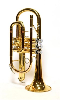 Lot 3028 - Cornet Yamaha YC2330ii no.T15028, in manufacturer's case, with mouthpiece and Denis Wick...