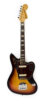 Lot 3032 - Fender Jaguar Guitar 1969/70 serial no. 224084 on four bolt neckplate, four selector switches,...