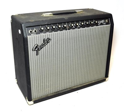 Lot 3034 - Fender Stage 100 Amplifier no.M910264, Type:PR401, Made in Mexico, with Line Out, external...