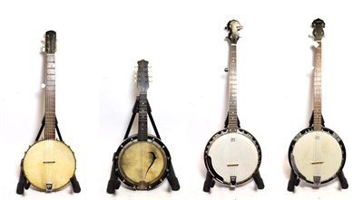 Lot 3042 - Banjo 5 string, 11'' head, 22 frets, headstock decal 'Countryman' (Requires attention to...