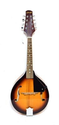 Lot 3046 - Ukelele Banjo 7 3/4'' head, 16 frets, with plaque on headstock 'George Formby Registered',...