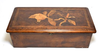 Lot 3052 - An American-Market Musical Box Playing Eight Airs, By Mermod Frères,  Serial No. 83883, circa...